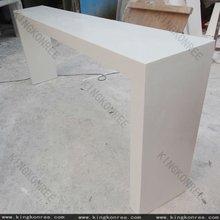 white stone high bar tables