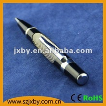 high end quality stripe barrel copper ballpoint pens
