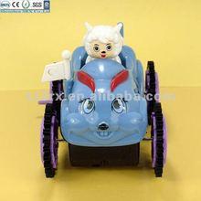 Plastic children electronic toy car