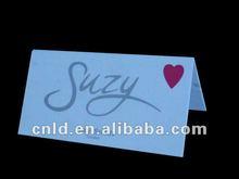 Acrylic/plastic price tag, name tag