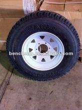 Heavy Duty WANLI Radial Trailer Tyre 235/75R15