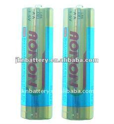 alkaline battery lr6 1.5v dry battery AA battery