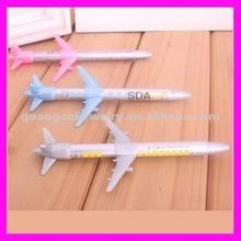 fashion newest cartoon small plane pen for boy