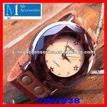 genuine leather designer watches