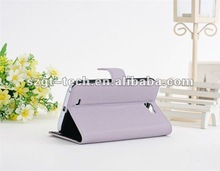 Colorful stand PU leather cases for Samsung GALAXY Note2 N7100