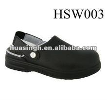 LY,Korean Autumn Fashion 2012 Composite Toe Cap Kitchen Safety Shoes In Black