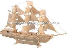 Woodcraft Construction Kit-Sailing ship