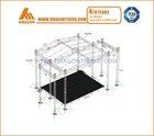 4 pillars / 4 leg 10X8X6M aluminum truss mobile tower