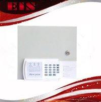 2012 best 8 zones sub-line wired alarm remote control alarm control panel