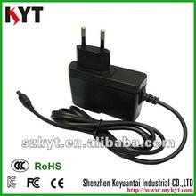 Qualified ac adapter 12V 1000mA with Korea plug