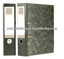 A4 Marble Paper Lever Arch File with Mechanism