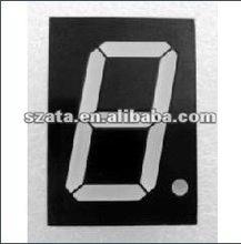 Bicolor 0.8 inch single digit 7 segment LED digital display