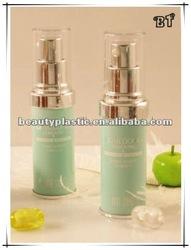 cosmetic airless jello bottle sun block container