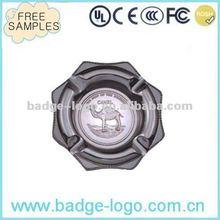 custom creative cool zinc alloy metal smoking decorative animal ashtray