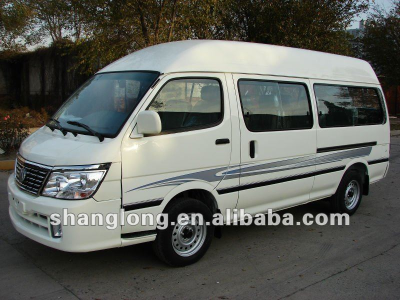 11 Seats Left/Right Hand Drive Chinese Diesel/Petrol Van Vehicle For Sale