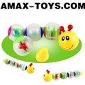 Bte-111605a gusano juguetes de dibujos animados infantil juguetes divertidos gusano