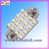 12v 24v SV8.5 socket 31/36/39/41mm 3528smd 16 led car dome light