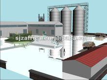 Algeria maize and wheat milling machine