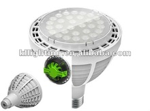 2012 newest cree 60w par38 led halogen spotlight fixtures with cooling fan inside