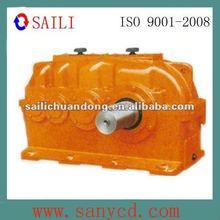 Industrial helical bevel transmission speed reducer
