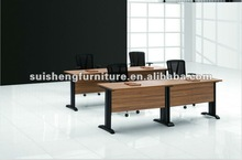 2012 modern MFC and steel legs Rectangular Office Training Table Meeting Room Table