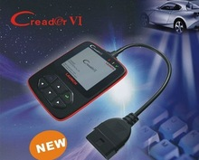 Creader VI 2012 Code Reader OBD2 Scan Tool In Stock Wholesale Price CE Complaint