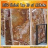 Natural red onyx marble slab and tile for wall
