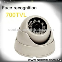 30m IR distance face recognition CCTV camera with AVS CCD chip