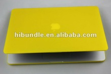 Rubberized matte finished hard cover case for macbook air 13''