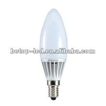 2012 hot sale Led mini bulb LED Candle Bulb80ra, 500Lm,CE&ROHS Approval