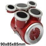Mini Electronic Desktop Drums Set with External Audio Ouput SQ-888 Drum Machine