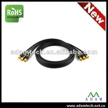 NEW 3 RCA male TO 3 RCA male AV cable