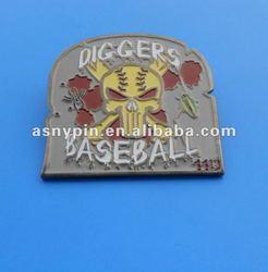 vintage baseball pin