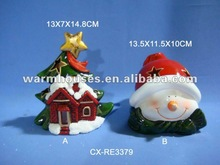 ceramic santa claus decoration ceramic christmas tree