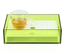 Innovative Design Square Acrylic Tray in Hot Sale Custom in Any Size