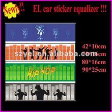 90X25cm High Brightness EL Car Sticker/ Auto Car Accessory ( with high brightness & fast delivery )