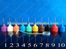 metal needle cap&silicone cover 10 Colors for E-Cigarette