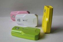 2000mAh Universal Portable Rechargeable Backup Power Bank for mobile phone, digital camera, PDA, PSP, MP3, MP4, iPod, DV