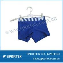 Nylon/lycra high performance swim trunk for boys with UV50+