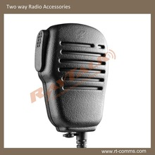 Light weight two way radio mini speaker microphone for walike talkie