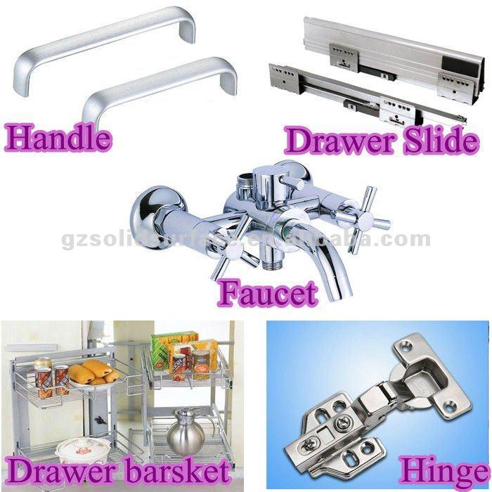 Moden Modular Kitchen Cabinet Drawer Slide Parts View Kitchen Cabinet