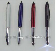 Led light ballpoint pen, metal ball pen with LED light, CH-6631