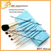 5pcs cosmetic &make up brushes with wooden handle