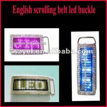2012 Newly flashing LED buckle for decoration