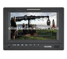 "Olink 7"" w/ HDMI,YPbPr, AV input 3G SDI Broadcast LCD Monitor"