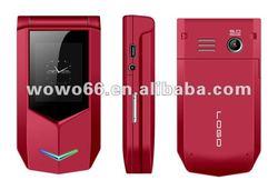 2012 low price dual sim Dual Screen flip phone