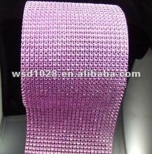 24 roll Diamond Mesh Wrap Rhinestone Ribbon Crystal Wedding Decoration