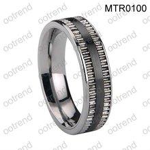 Men tungsten carbide rings inlay stainless steel,elegant men stainless steel tungsten rings