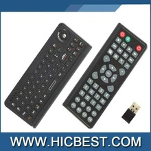 New 2.4G 3 in 1 Multifunctional mini wireless keyboard & mouse TV remote receiver for Smart TV/MK802/HTPC/Projector etc