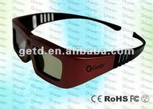Ultra-light active 3d eyewear